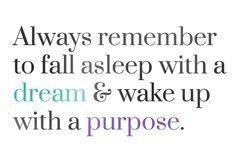 dreams and purpose