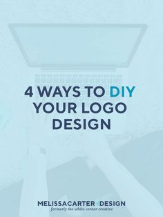 A logo is a vital part of your brand's visual identity, but getting a custom design can be expensive. Here are 4 ways to DIY your logo design on a budget.