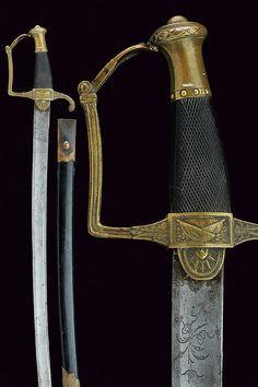A senior officer's sabre, France, ca 19th century.