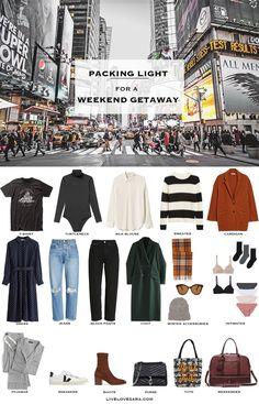 Weekend Trip Packing, Weekend Getaway Outfits, Weekend Outfit, Weekend Getaways, Winter Packing, City Break Outfit Winter, Winter Travel Outfit, Travel Outfits, Travel Wardrobe