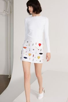 [No.29/45] STELLA McCARTNEY 2014春夏プレコレクション   Fashionsnap.com Fashion Week, Runway Fashion, High Fashion, Fashion Show, Womens Fashion, Fashion Design, Fashion Trends, Review Fashion, Skirt Fashion