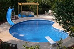 Fiberglass Pools , 9 Ideal Kidney Shaped Pools In Garden Pool Category