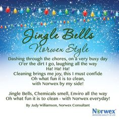 Spread some holiday cheer with a Norwex Twist! Thanks to Norwex Consultant, Judy Williamson for her Norwex rendition of Jingle Bells! Norwex Biz, Norwex Cleaning, Norwex Products, Cleaning Tips, Green Cleaning, Cleaning Products, Christmas Facebook Banner, Christmas Banners, 12 Days Of Christmas