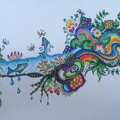 Johanna Basford | Colouring Gallery #inspiração #coloringbooks #livrosdecolorir #jardimsecreto #secretgarden #florestaencantada #enchantedforest #reinoanimal #animalkingdom #adultcoloring #milliemarotta #lostocean #oceanoperdido #johannabasford