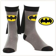 Chaussettes Batman avec Cape #chaussettes #batman