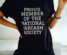 "INTJs are born members of the ""National Sarcasm Society""! INTJ fashion."