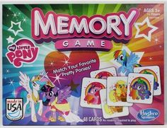 My Little Pony Memory Game My Little Pony,http://www.amazon.com/dp/B00D5TI47O/ref=cm_sw_r_pi_dp_8GCYsb10H4X6G2P9