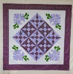 I love the creativity of my students! This was made by a student in my Craftsy Clever Curves class! I love her corner treatment! Love Her, Clever, Workshop, Creativity, Quilting, Students, Sewing, Projects, How To Make