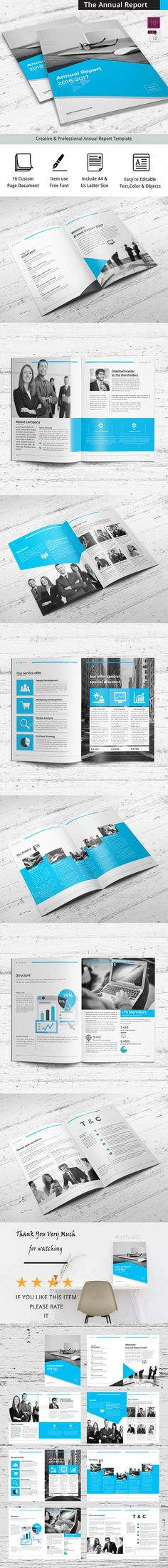 Brochure u2014 InDesign Template #corporate profile #business brochure - corporate profile template