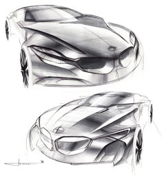 https://www.behance.net/gallery/38006861/BMW-Luxury-Coupe-Sketches