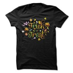 Trick or Treat 2017 T Shirts, Hoodies. Check price ==► https://www.sunfrog.com/Zombies/Trick-or-Treat-2015.html?41382 $19
