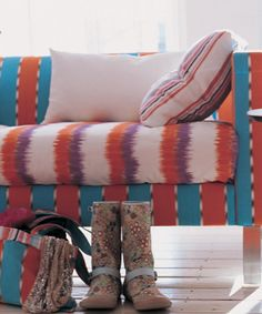 Designers Guild - love the colorful ikat