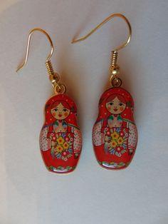 Matryoshka Babushka Russian Doll .