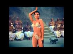 Debra Paget dances in this mashup from Fritz Lang's The Indian Tomb and The Tiger of Eschnapur with soundtrack added, Misirlou by Martin Denny from the same year. Music Mix, Sound Of Music, Dance Music, Music Songs, Music Videos, Belly Dance Makeup, Lounge Music, Dance Numbers, Tiki Lounge