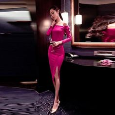 0363a683a084 γυναικών από τη σχισμές ώμο σέξι φόρεμα – EUR € 19.07 Sexy Dresses