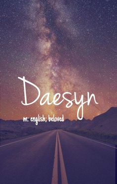 Daesyn - amazing boy or girl name!  Pronounced: DAY-sin