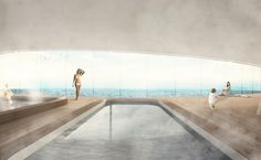 lujac desautel envisions glass luxury yacht on floating platform Floating Architecture, Glass Boat, Floating Platform, Sailboat Living, Glass Elevator, Floating House, Yacht Design, Super Yachts, Luxury Yachts