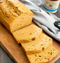 This low carb, gluten free bread is just five ingredients and prepared in one bowl. It's a great bread for sandwiches, toast and more. One of my favorite low carb breads has been this flourless peanut butter bread. The other day I got the idea to try it with almond butter instead. And I love …