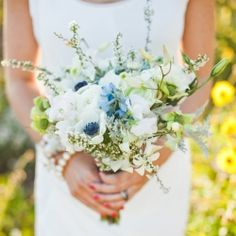 Simple But Beautiful Bouquet From Luns And Chloe