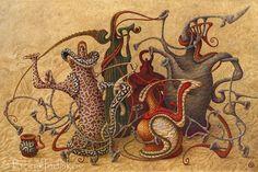 Boris Indrikov | Boris Indrikov 1969 | Russian Magical Realism painter