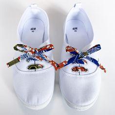 DIY : Customise tes tennis blanches avec des lacets en wax !