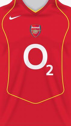 Arsenal 04-05 kit home