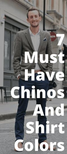 Read on to know how 5 different shades of chinos combine with 2 basic shirts in different hues to produces 7 fresh and unique outfit ideas. Oversized Sweater Outfit, Sweater Outfits, Guy Outfits, Formal Outfits, Formal Wear, Casual Wear, Mens Fashion Blog, Fashion Mode, Fashion Suits