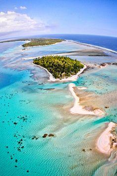 Ninamu Motu, Tikehau, French Polynesia
