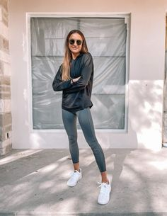 Sporty Chic Outfits, Lazy Day Outfits, Gym Outfits, Athleisure Outfits, Athleisure Fashion, Fall Outfits For Work, Fall Winter Outfits, Sport Outfits, Spring Outfits