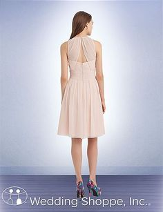 Bill Levkoff Bridesmaid Dress 1103. Cute dresses by this designer. Persimmon and coral are pretty colors!