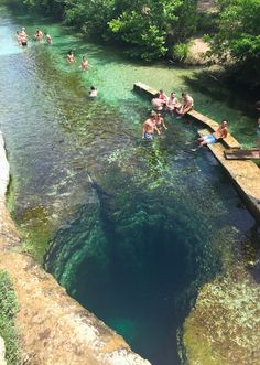 Day trips from Austin. Texas Swimming Hole. Jacob's Well, Wimberley, TX. photo by: libbybaur