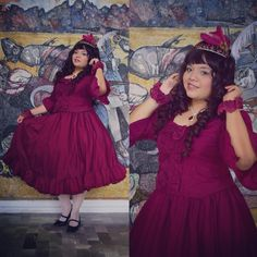 Beautiful Plus Sized Lolitas, moemiazrael:   #lolitafashion #eglcommunity...