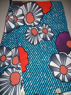 African Fabric per yard/ African head wraps/ by tambocollection, $7.00