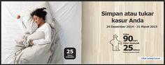 Simpan Atau Tukar Kasurmu di Ikea,  24 Desember 2014 – 31 Maret 2015 Home Decor, Decoration Home, Room Decor, Interior Decorating