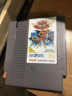 Vintage Nintendo NES Flying Warriors Hard To Find Game