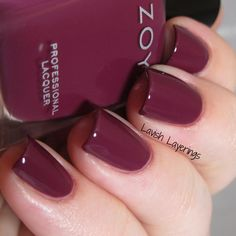 Today I have the second part of Zoya's fall offerings, the Entice Collection . This collection consists of 6 . Vegan Nail Polish, Zoya Nail Polish, Manicure Ideas, Nail Tips, Nail Polish Collection, Mani Pedi, Manicures, Swatch, Colors