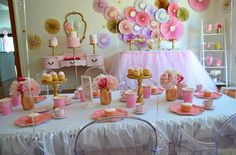 Birthday party ideas from Sugar Coated Candy & Dessert Buffets