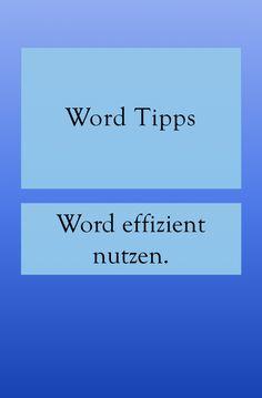 Word Office, The Words, Microsoft Word, Life Hacks, Tips, Internet, Iphone, Organization, Useful Tips