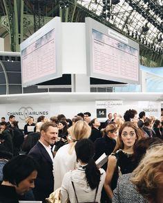 "Sofia Sanchez de Betak on Instagram: ""Aca ta!!! #LookingForChufy @chanelofficial #ChanelShow #ChanelAirlines morenon snapchat """