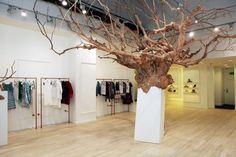British Designers Collective Pop-up Store by Clare Ceprynski at Bicester Village, Oxfordshire – UK » Retail Design Blog