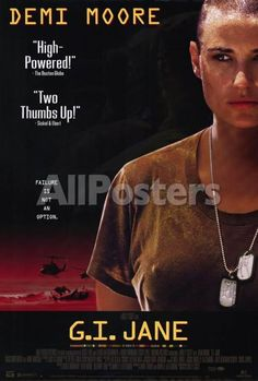 G.I. Jane Movies Poster - 69 x 102 cm