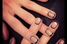 How to Re-create M.A.C.'s Latest Graphic Nails -- The Cut