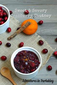 This cranberry chutney takes the humble cranberry sauce and kicks it up a notch with the addition of blueberries and spices. Perfect for your AIP/ Paleo Thanksgiving!
