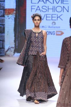 #Lakme India Fashion Winter Festival 2015 #Indian Fashion #Indian Runway #RahulShikha