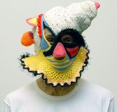 Scary clown balaclava