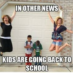 I know - you've already seen 50 other back to school posts.  But that's just because IT DOESN'T STOP BEING EXCITING!!
