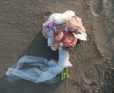 romantic seaside flowers