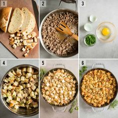 Homemade Sausage Stuffing is the very best Thanksgiving sausage dressing recipe you can make! Made with fresh bread and tons of flavor, it won't disappoint. Stuffing Recipes For Thanksgiving, Thanksgiving Appetizers, Thanksgiving Dressing, Sausage Stuffing, Sage Sausage, Homeade Bread, Homemade, Oven Roasted Turkey, Savory Herb