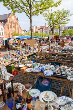 Beyond Bric-a-Brac at Brussels' Flea Markets The city's antique markets, centrally located and with lower prices than Paris or London, are full of everything you've ever—and never—wanted for your shabby-chic apartment. Don't forget to bring a spare bag (or two)