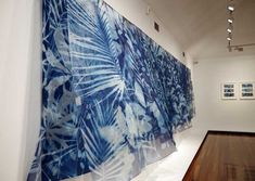 The Nature of Blue Cyanotypes Sun Prints, Alternative Photography, School Painting, Cyanotype, Ceramic Artists, Hanging Art, Fabric Art, Cool Artwork, Installation Art